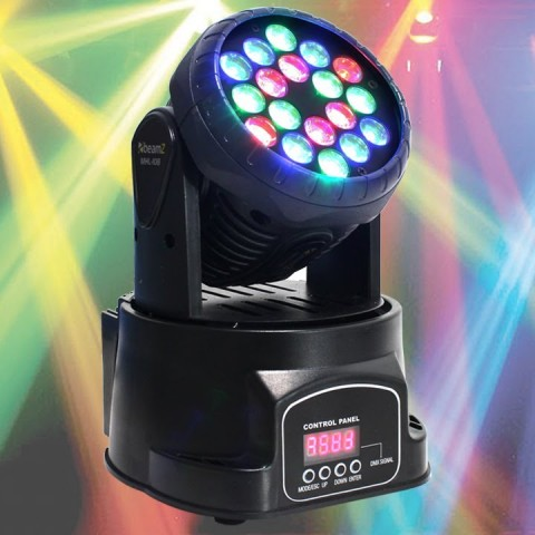 Beamz led wash