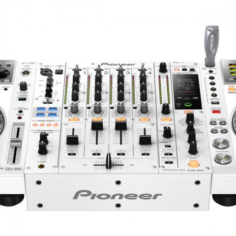 Pioneer CDJ - DJM-850-White